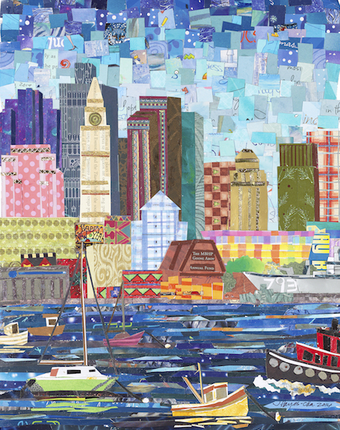 Janice Hayes Cha, Boston Harbor