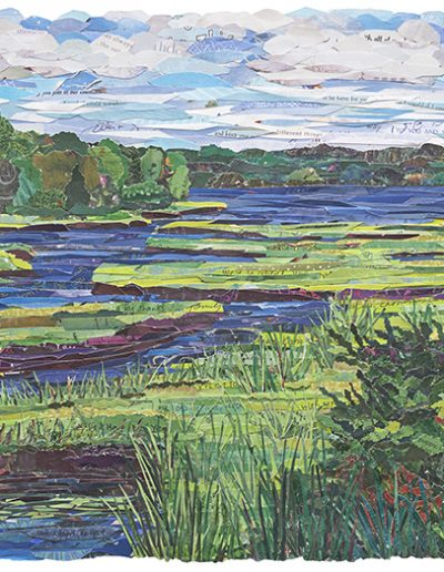 Back River Salt Marsh 16x20