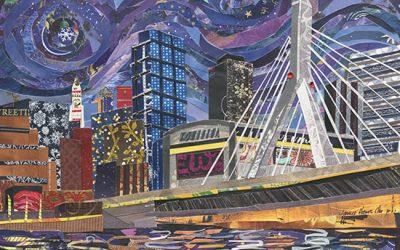New Boston Art: Zakim Bridge
